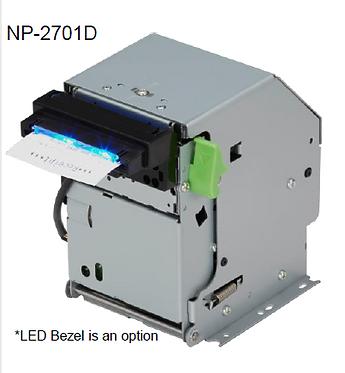 מדפסת קיוסק טרמית בתפעול קדמי NP-2701D / NP-2705D