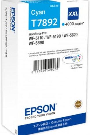 דיו כחול למדפסת אפסון T7892 EPSON