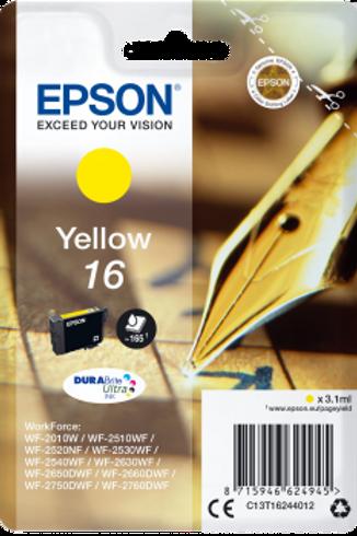 דיו צהוב למדפסת אפסון T1624 EPSON