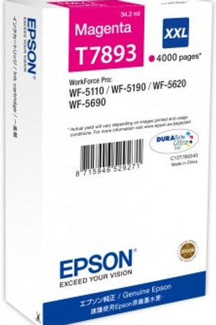 דיו אדום למדפסת אפסון T7893 EPSON