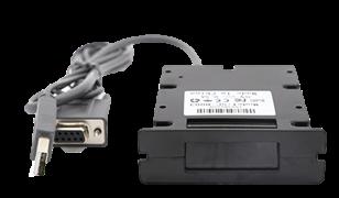 QBR-300E קורא ברקוד חד מימדי לשיבוץ בעמדות