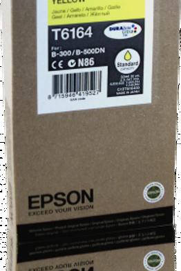 דיו צהוב למדפסת אפסון T6164 EPSON