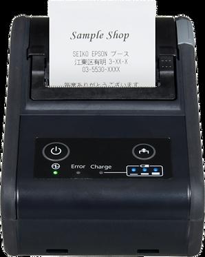 מדפסת מדבקות ניידת עם קולף EPSON TM-P60II Peeler