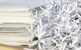What is the benefit of off-site shredding?