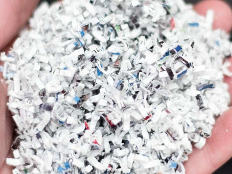 Micro-cut shredding for the highest level of security
