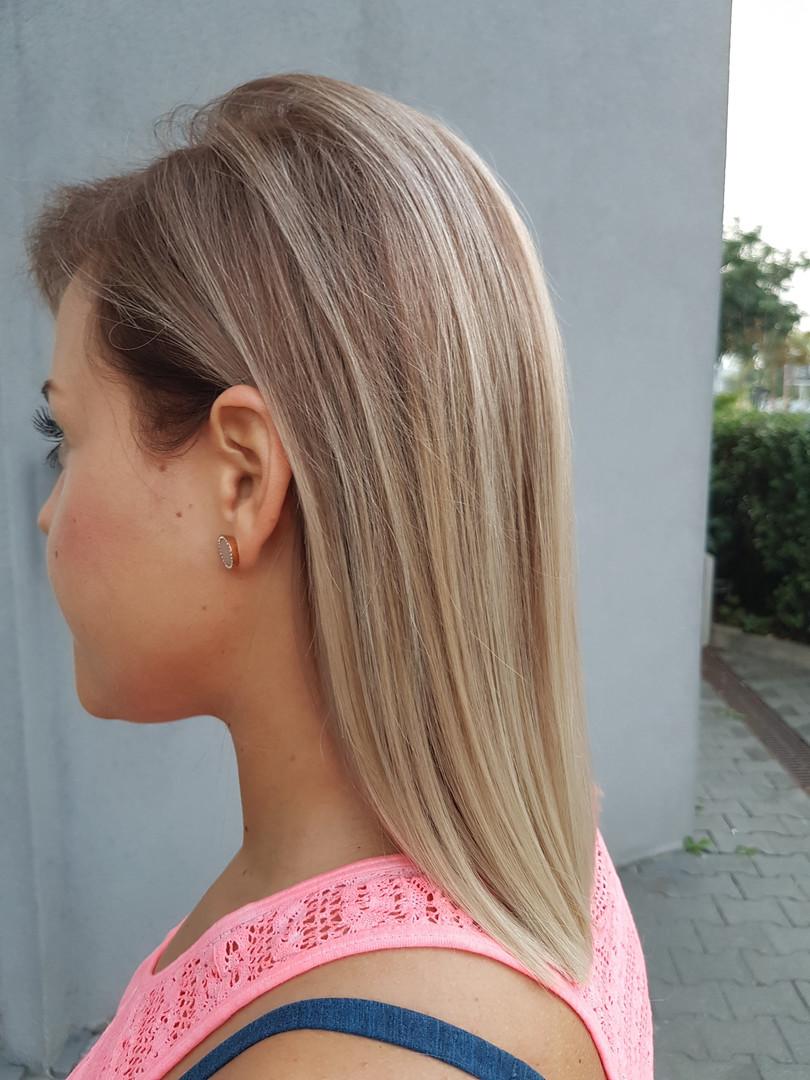 Hnedá, blond, melír, ombré