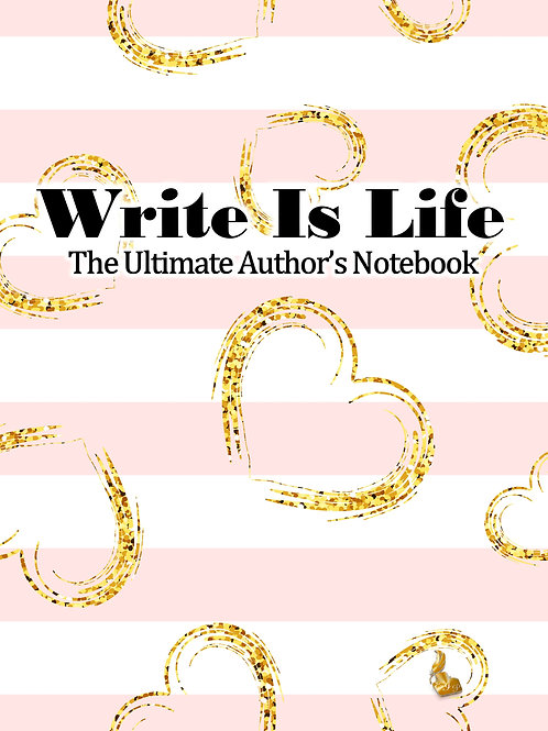 Write Is Life (Pink Stripes)