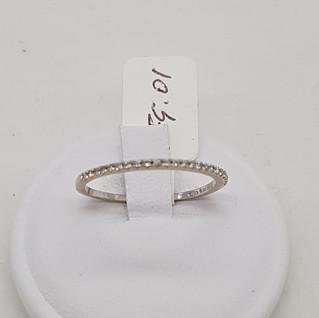 Fedina oro 750 gr 1.04 e diamanti - EURO 110