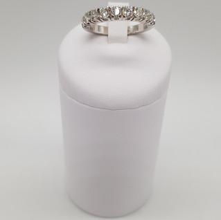 """half eternity"" oro 750°/oo - Diamanti 1,20 ct - Euro 1.300"