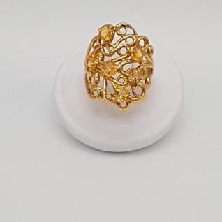 Anello oro 750°/°°. Zaffiri 1,96 carati. Euro 1.100