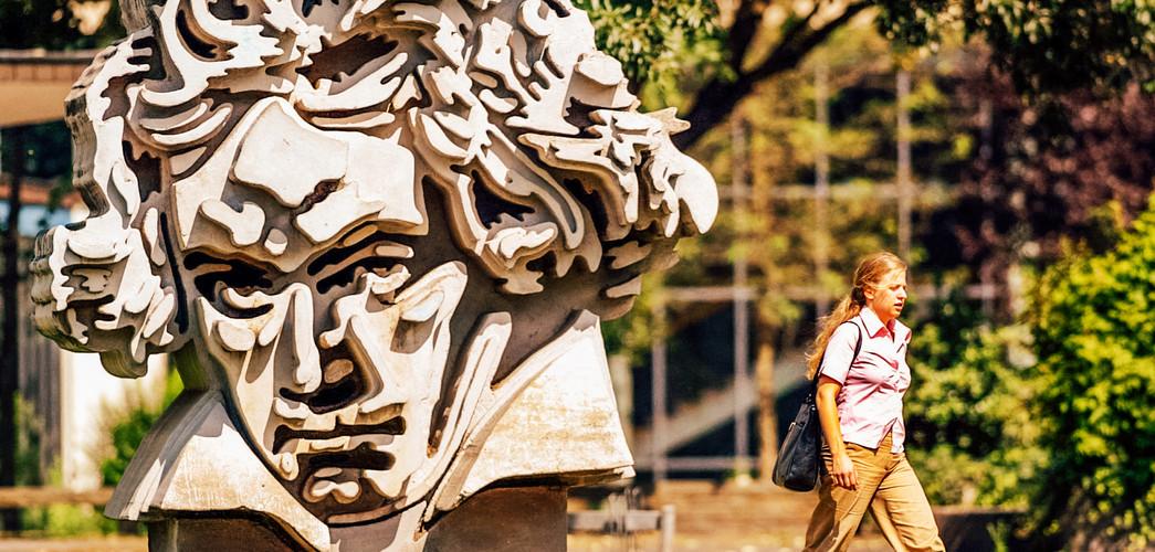 Beethoven Skulptur