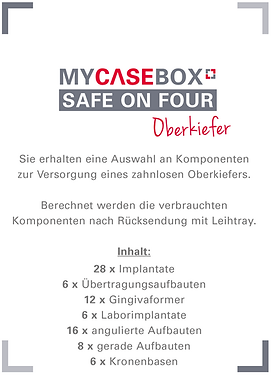 MCB, My Case Box - Oberkiefer