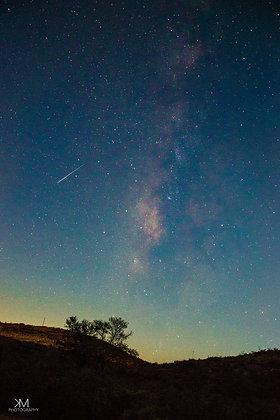 Shooting Star over Cibolo