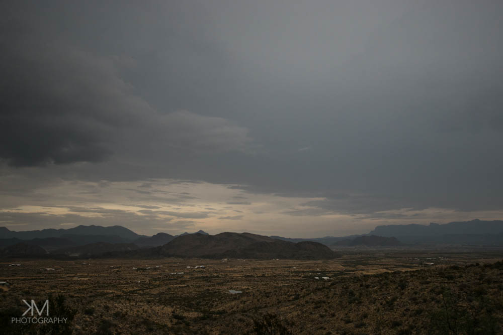 Stormy Afternoon in Terlingua