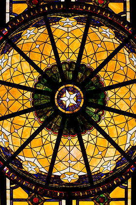 Driskill Stain-Glass