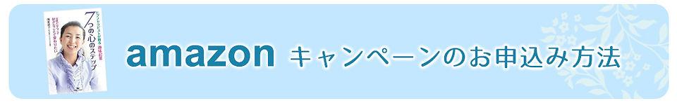 濱田恭子 アマゾンキャンペーンのお申込み方法