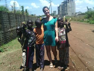 Primeros días en África