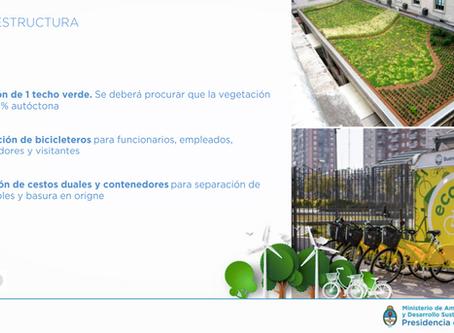Proyecto propio en Ministerio de Ambiente Nación: Edificios Públicos Sustentables
