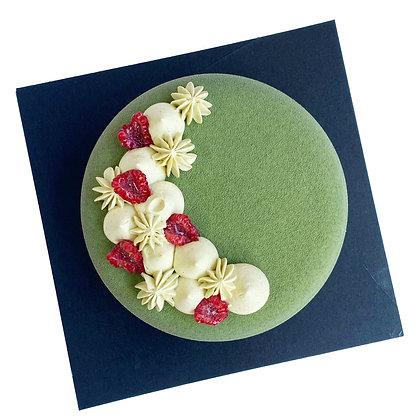 Pistachio Entremet French Mousse-Based Dessert