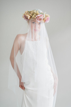 La Poesie Charlotte silk wedding