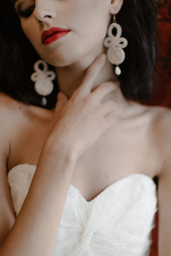 La Poesie Jeanne silk wedding gown