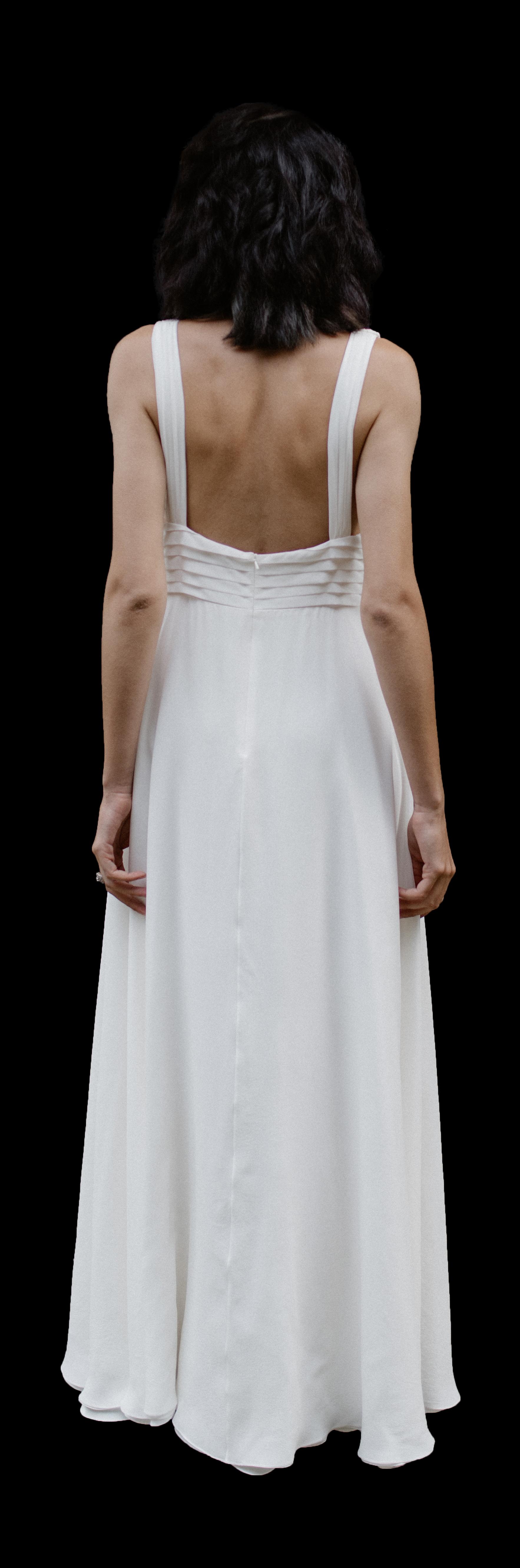 La Poesie Marianne Silk Wedding Gown