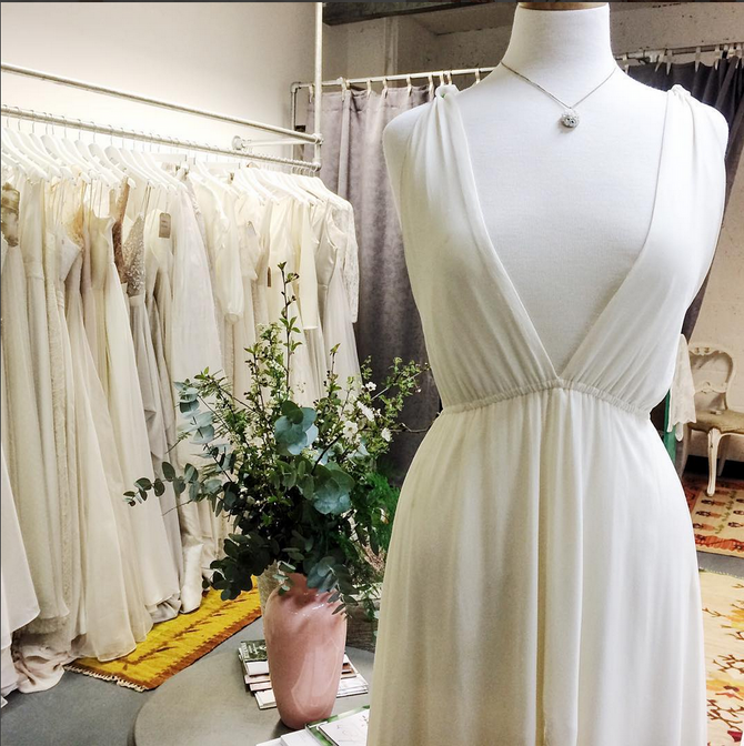 London's Most Exciting Bridal Boutique Heart Aflutter