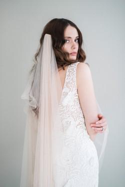 La Poesie Loulou Lace Wedding Gown