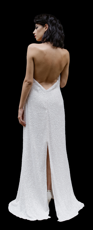 La Poesie Alexandra Silk Wedding Gown