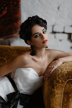 La Poesie Camille Silk Wedding Gown