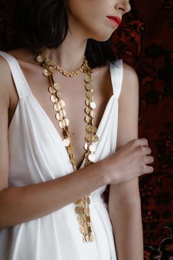La Poesie Emilie Silk Wedding Gown