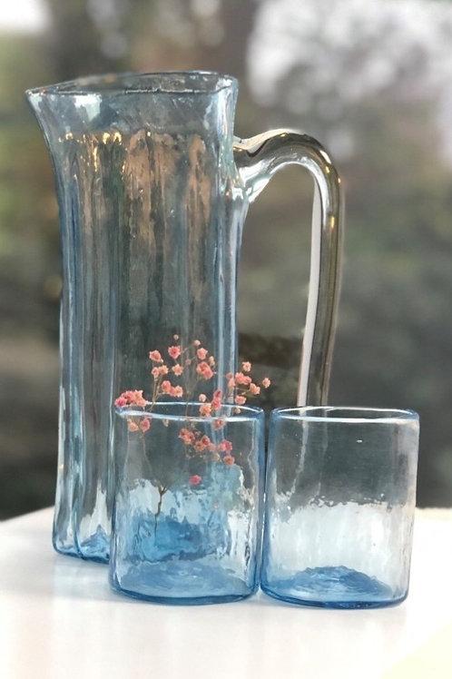 Giftbox jug & 2 medium glasses
