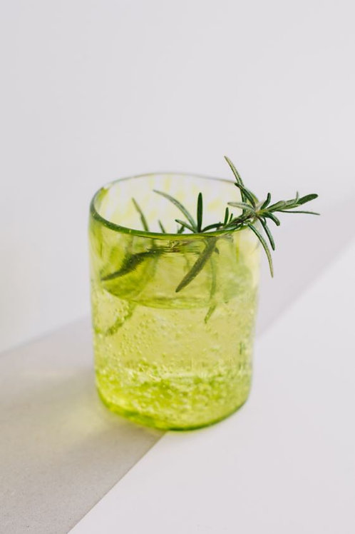 Lemon Green medium hand-blown glass KUUNDESIGN