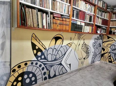 Grafiti em sala
