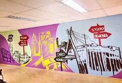 grafiti em escritorio sao paulo