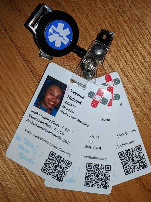 NTHR Staff ID Badge
