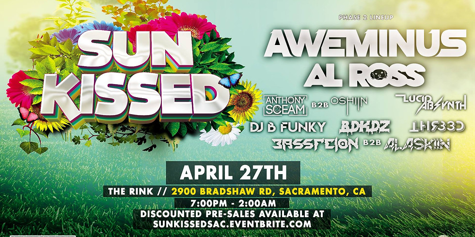 Sun Kissed Featuring Aweminus, Al Ross & Many More!