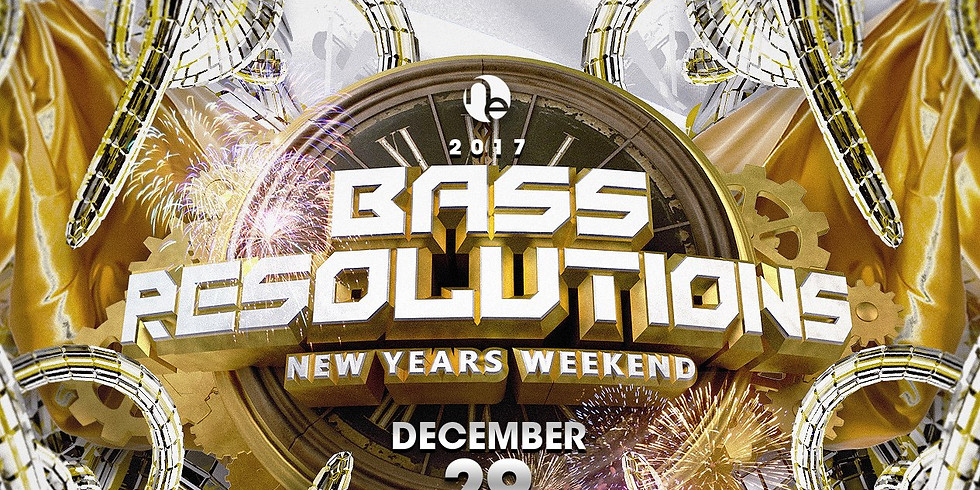 Bass Resolutions - New Years weekend celebration!