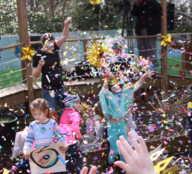 Kids Celebrate the New Year in Unique Way at Annual Children's Museum Event