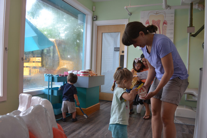 The Children's Museum of Wilmington Partners with Delta Dental Foundation on Dental Exhibit