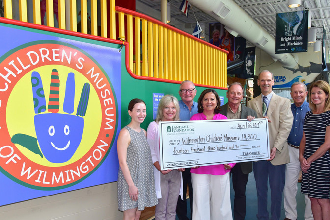 Children's Museum Receives $14,300 Grant from Landfall Foundation