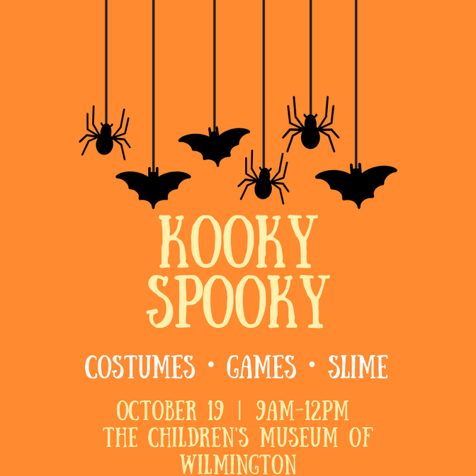 Children's Museum to Host Kooky Spooky this Saturday: Join us...if you dare!