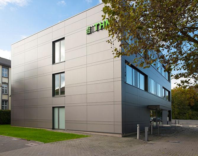Laborgebäude in Modulbauweise, Campus THM