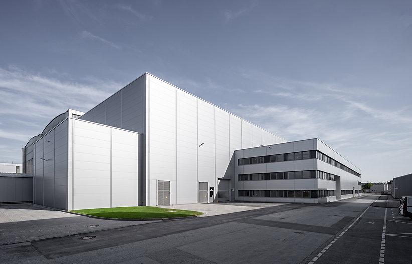 aib realisiert Siemens Service-Halle