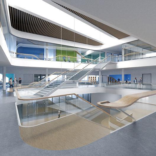 aib realisiert globales Besucherzentrum für Siemens