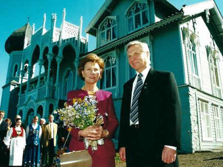 Med Kronprinsesse Sonja på åpning av Oslo Kammermusikkfestival