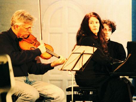 Med Martha Argerich