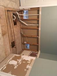 Shower doors Installation.JPG