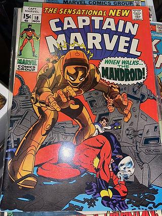 Captain Marvel 18 (Silver Age)