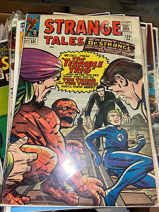 Strange Tales 129 (Silver Age)